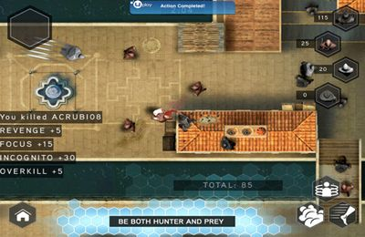 Screenshots of the Assassin's Creed Rearmed game for iPhone, iPad or iPod.