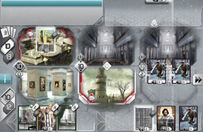 Capturas de pantalla del juego Assassin's Creed Recollection para iPhone, iPad o iPod.
