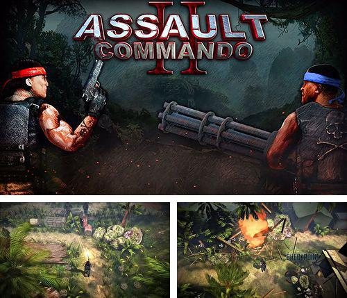 In addition to the game Kosmik revenge for iPhone, iPad or iPod, you can also download Assault commando 2 for free.