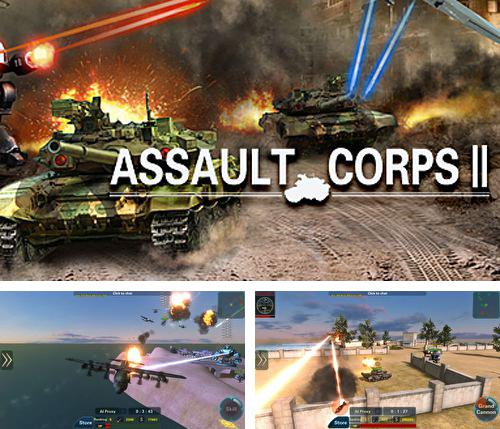 In addition to the game The spatials for iPhone, iPad or iPod, you can also download Assault corps 2 for free.