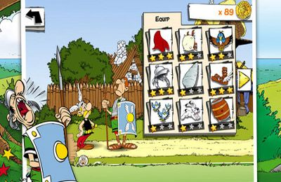 Download Asterix: MegaSlap iPhone free game.