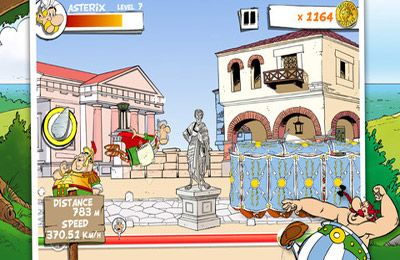 Screenshots of the Asterix: MegaSlap game for iPhone, iPad or iPod.