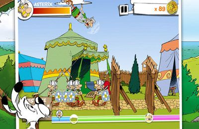 Screenshots do jogo Asterix: MegaSlap para iPhone, iPad ou iPod.