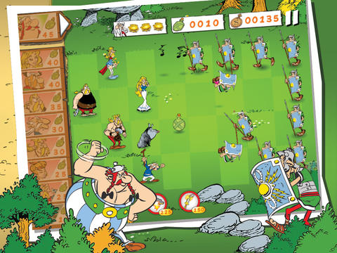 Screenshots of the Asterix: Total Retaliation game for iPhone, iPad or iPod.