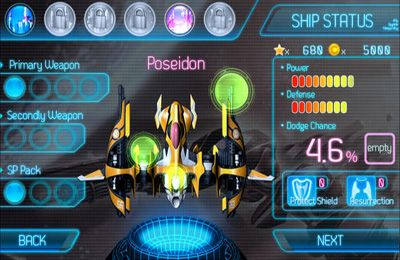 Capturas de pantalla del juego AstroWings Gold Flower para iPhone, iPad o iPod.