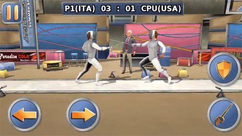 Capturas de pantalla del juego Athletics 2: Summer sports para iPhone, iPad o iPod.