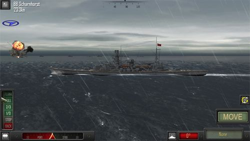 Screenshots vom Spiel Atlantic fleet für iPhone, iPad oder iPod.