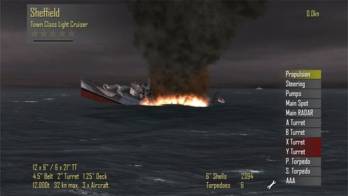 Écrans du jeu Atlantic fleet pour iPhone, iPad ou iPod.