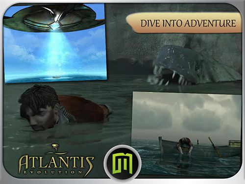 Screenshots of the Atlantis 4: Evolution game for iPhone, iPad or iPod.