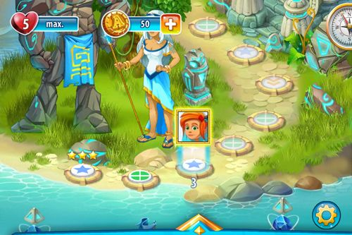 Screenshots of the Atlantis adventure game for iPhone, iPad or iPod.