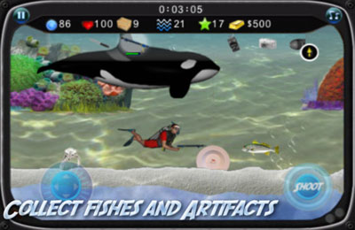 Capturas de pantalla del juego Atlantis Oceans para iPhone, iPad o iPod.