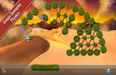 Screenshots of the Atomic Ball game for iPhone, iPad or iPod.