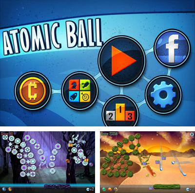 In addition to the game Get Outta My Galaxy! HD for iPhone, iPad or iPod, you can also download Atomic Ball for free.