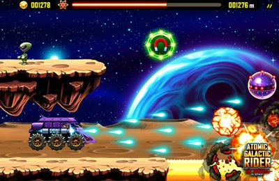 Скачать Atomic Galactic Rider – Van Pershing in Space на iPhone бесплатно