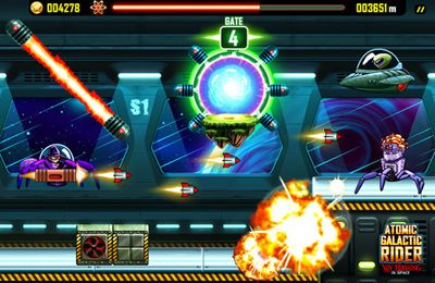 Скачать игру Atomic Galactic Rider – Van Pershing in Space для iPad.