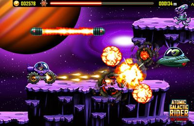 Игра Atomic Galactic Rider – Van Pershing in Space для iPhone