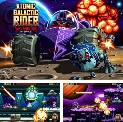 In addition to the game Tree wars for iPhone, iPad or iPod, you can also download Atomic Galactic Rider – Van Pershing in Space for free.