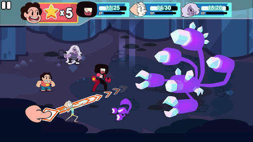 Screenshots of the Attack the light: Steven universe game for iPhone, iPad or iPod.
