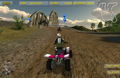Free ATV Madness download for iPhone, iPad and iPod.