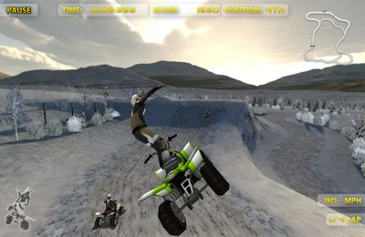 Capturas de pantalla del juego ATV Madness para iPhone, iPad o iPod.