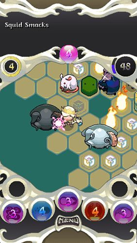 Screenshots vom Spiel Auro: A monster-bumping adventure für iPhone, iPad oder iPod.