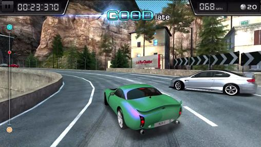 Screenshots vom Spiel Auto club: Revolution drift für iPhone, iPad oder iPod.