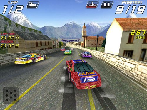 Screenshots of the Auto thunder game for iPhone, iPad or iPod.