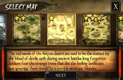 Screenshots of the Autumn Dynasty game for iPhone, iPad or iPod.