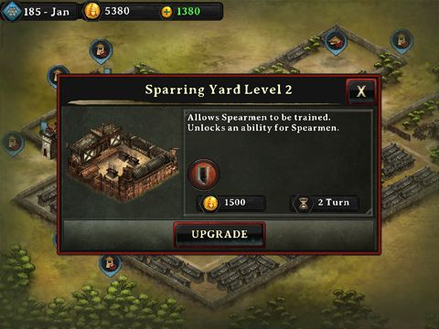 Screenshots of the Autumn dynasty: Warlords game for iPhone, iPad or iPod.