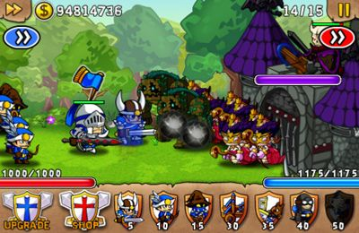 Screenshots vom Spiel Avatar of War: The Dark Lord für iPhone, iPad oder iPod.