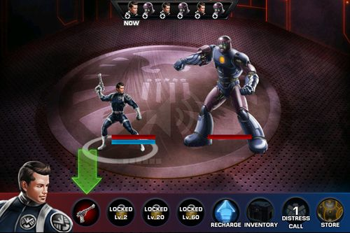 Écrans du jeu Avengers: Alliance pour iPhone, iPad ou iPod.