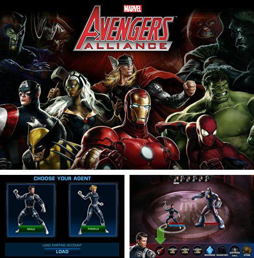 Download Avengers: Alliance iPhone free game.