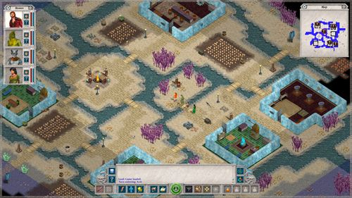 Screenshots of the Avernum 2: Crystal souls game for iPhone, iPad or iPod.