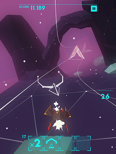 Screenshots of the Avicii: Gravity game for iPhone, iPad or iPod.