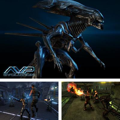 In addition to the game Warhammer 40 000: Armageddon for iPhone, iPad or iPod, you can also download AVP: Evolution for free.