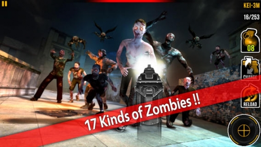 Free Awake zombie: Hell gate download for iPhone, iPad and iPod.