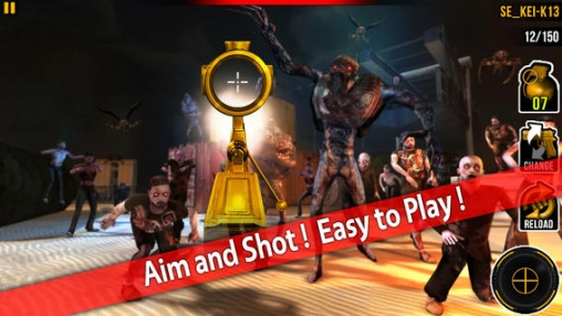 Screenshots of the Awake zombie: Hell gate game for iPhone, iPad or iPod.