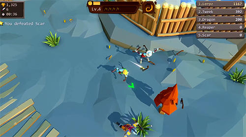Kostenloser Download von Axe.io: Brutal knights battleground für iPhone, iPad und iPod.