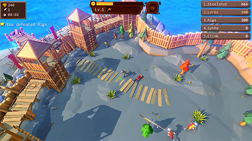 Capturas de pantalla del juego Axe.io: Brutal knights battleground para iPhone, iPad o iPod.