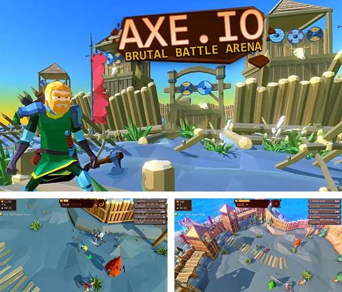 In addition to the game All-Star Troopers for iPhone, iPad or iPod, you can also download Axe.io: Brutal knights battleground for free.