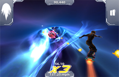 Screenshots of the Axon Runners game for iPhone, iPad or iPod.