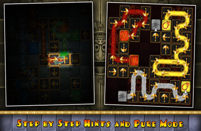 Download Aztec Puzzle iPhone free game.