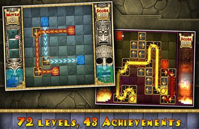 Capturas de pantalla del juego Aztec Puzzle para iPhone, iPad o iPod.