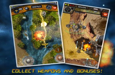 Игра B-Squadron: Battle for Earth для iPhone