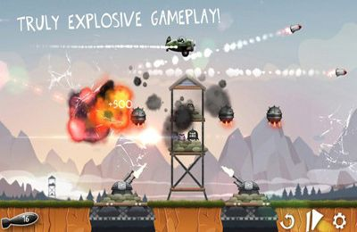Capturas de pantalla del juego Baa Baa Bomber para iPhone, iPad o iPod.