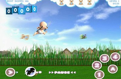 Free Baby Ninja download for iPhone, iPad and iPod.