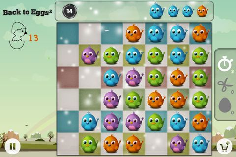 Free Back to eggs download for iPhone, iPad and iPod.
