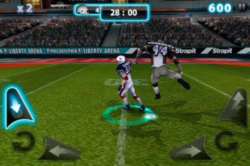 Download Backbreaker 2: Vengeance iPhone free game.