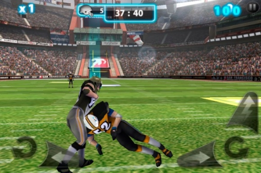 Free Backbreaker 2: Vengeance download for iPhone, iPad and iPod.