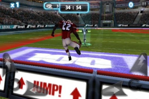 Screenshots of the Backbreaker 2: Vengeance game for iPhone, iPad or iPod.